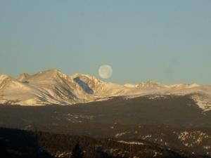 Moon at Christmas