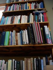 So many books......