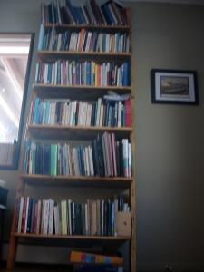The poetry bookshelf