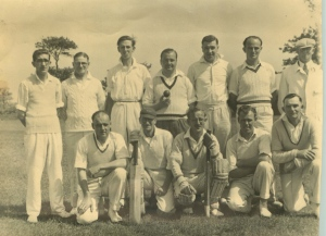 The village cricket team