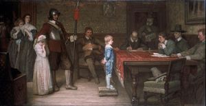 And when did you last see your father? Frederick Yeames